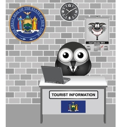 New York City Tourist Information vector image