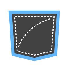 Pocket square vector