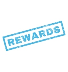 Rewards rubber stamp vector