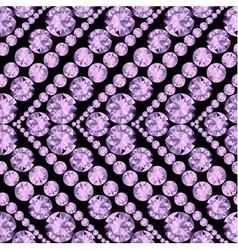 Seamless herringbone pattern made of diamonds vector