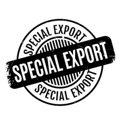 Special export rubber stamp vector