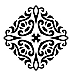 Abstract mehndi tattoo ornament vector
