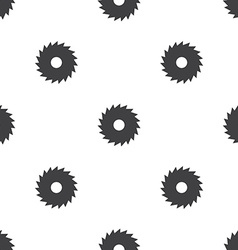 Industrial saw seamless pattern vector