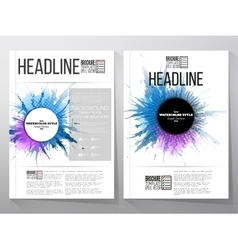 Abstract circle banners with place for text vector