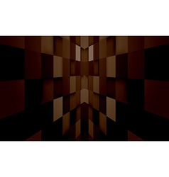 Abstract mosaic hi-tech brown background vector image