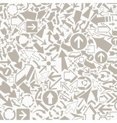 Background of arrows7 vector image vector image