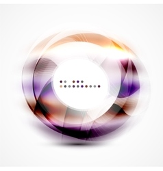Colorful abstract circle banner vector