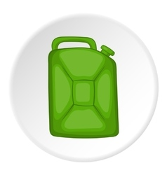 Flask for gasoline icon cartoon style vector image vector image