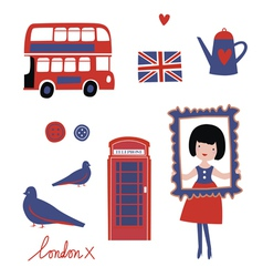 London style vector image