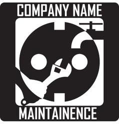 Maintainence logo vector