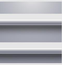 modern shelf background vector image