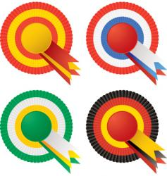 rosette vector image vector image