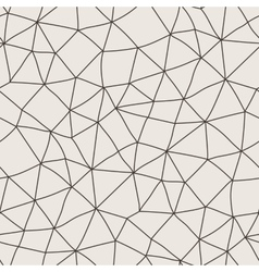 seamless pattern of polygonal lines in a vector image vector image