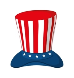 Hat america usa vector
