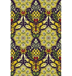 Classic seamless pattern multicolored vector