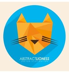 Abstract animal vector
