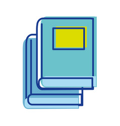 books tool study to learn things vector image vector image