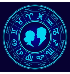 Horoscope love vector