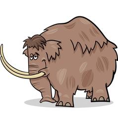 Mammoth cartoon vector