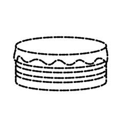 Pancakes delicious food vector