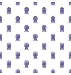 train pattern seamless vector image