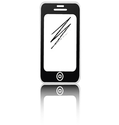 Smartphone isolated vector