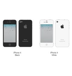 Apple iphone 4 vector