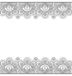 Old lace vector image