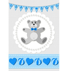 Babies nursery design vector