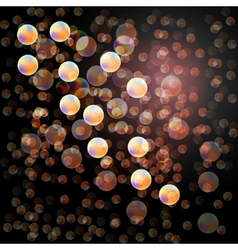 Abstract background bokeh effect vector