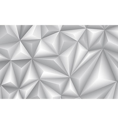 Abstract geometrical gray background vector image vector image