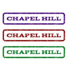 Chapel hill watermark stamp vector