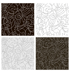 line patterns vector image vector image