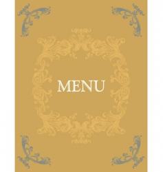 menu14 vector image vector image