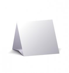 blank calendar vector image vector image