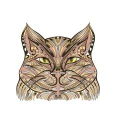 etnich cat vector image