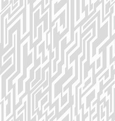 Monochrome tech geometric seamless pattern vector
