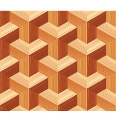 Parquet 3d seamless floor pattern vector
