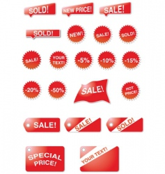 on sale vector image