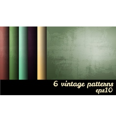 Vintage grunge blank backgrounds set vector image