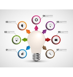 Infographics for business presentations or vector