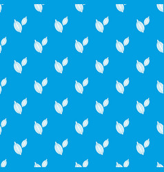 Cardamom pods pattern seamless blue vector
