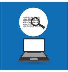 Computer analysis data binary search vector