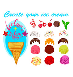 Ice cream generator vector