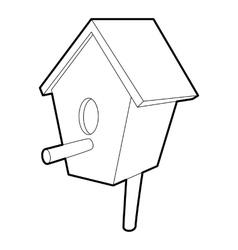 Nesting box icon isometric 3d style vector