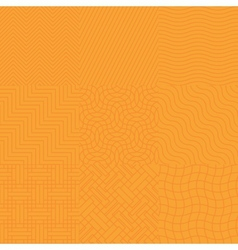 Seamless abstract orange pattern vector