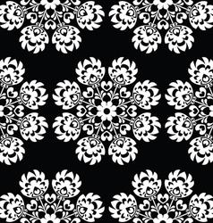 Seamless floral Polish folk art pattern vector image vector image