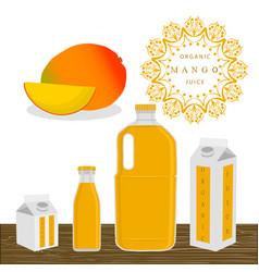the theme mango vector image vector image