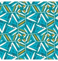 Vintage pattern with art deco motifs vector
