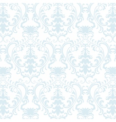 classic floral damask ornament pattern vector image
